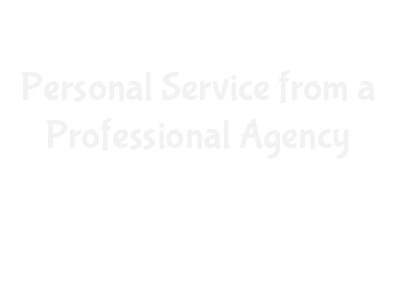Personal service from a professional agency